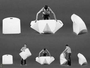 flux  - folding